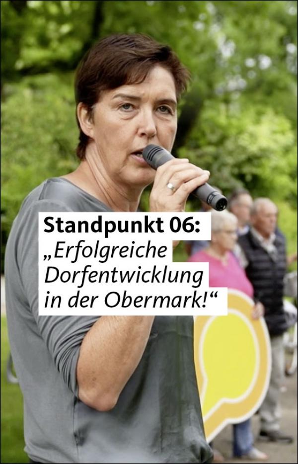 """Video 06: """"Erfolgreiche Dorfentwicklung in der Obermark"""""""