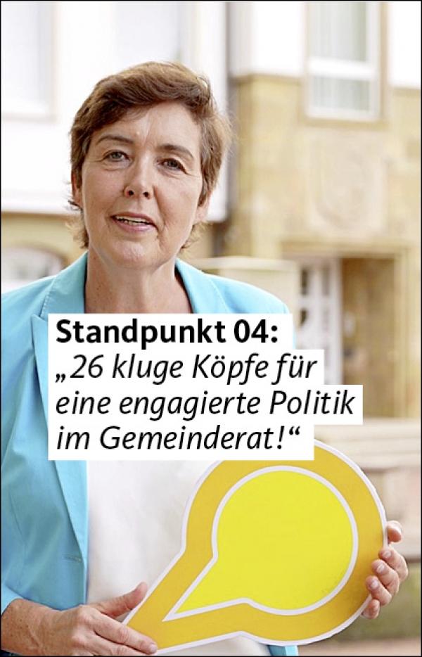 """Video 04: """"26 kluge Köpfe für eine engagierte Politik  im Gemeinderat!"""""""
