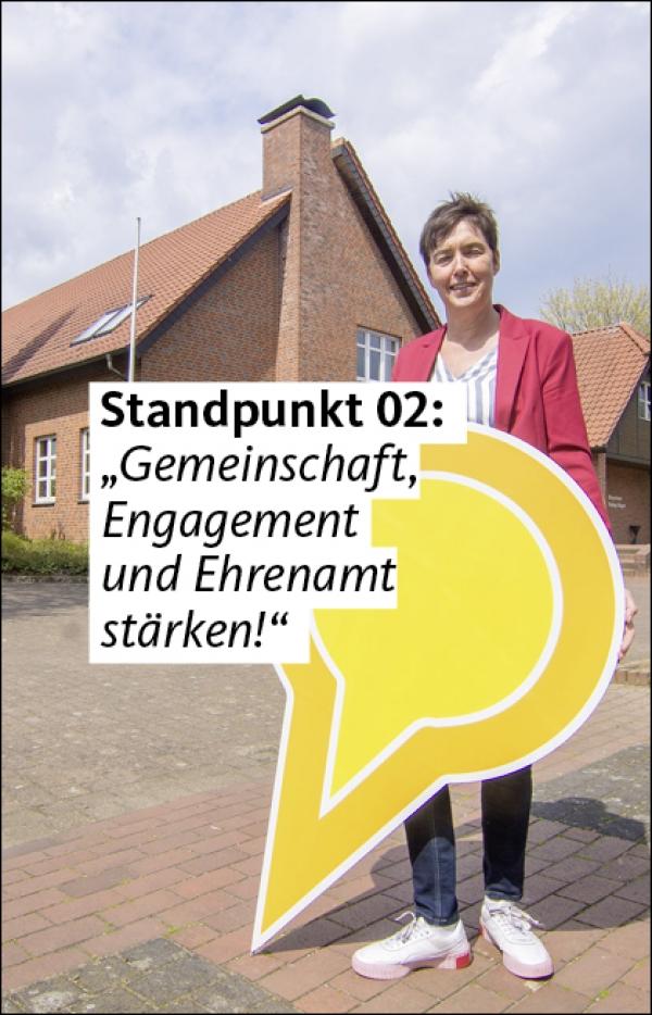 """Video 02: """"Gemeinschaft, Engagement und Ehrenamt stärken"""""""